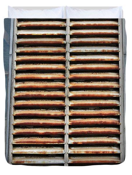Rusted Shut Duvet Cover