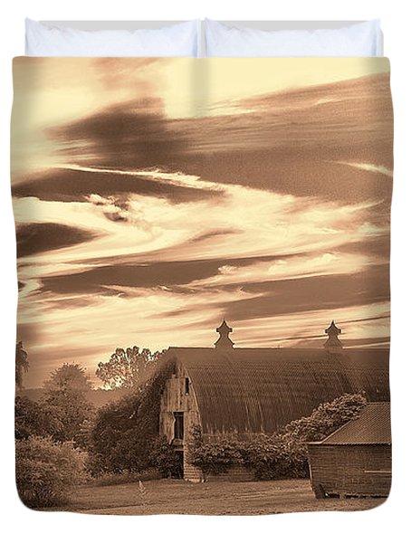 Rustic Barn 2 Duvet Cover