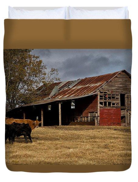 Rustic Barn Duvet Cover