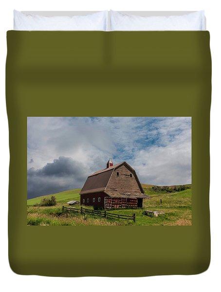 Rustic Barn Palouse Washington Duvet Cover