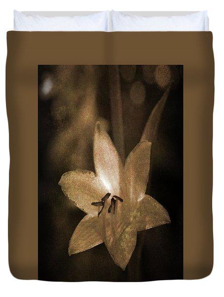 Rustic Bloom Duvet Cover