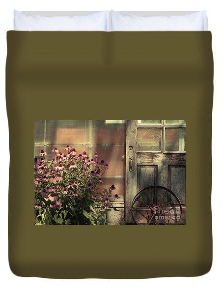 Rustic Corner Duvet Cover