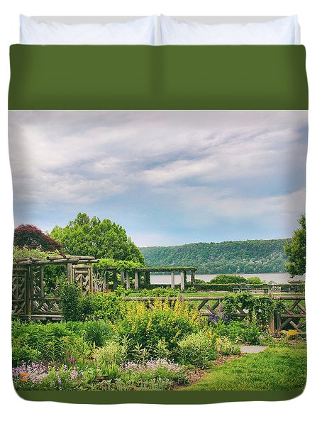 Rustic Garden Duvet Cover by Jessica Jenney