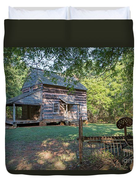 Rustic Homestead Duvet Cover by Kevin McCarthy