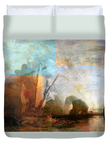 Rustic I Turner Duvet Cover by David Bridburg