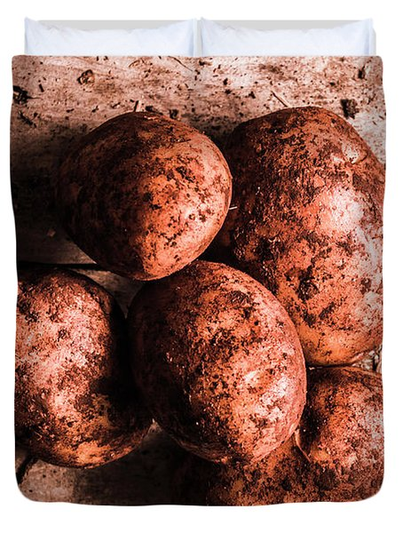 Rustic Kitchen Still-life Duvet Cover