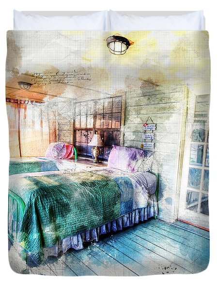 Rustic Look Bedroom Duvet Cover