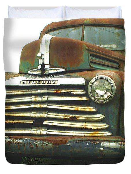 Rustic Mercury Duvet Cover by Randy Harris