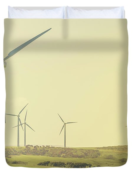Rustic Renewables Duvet Cover