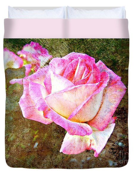 Rustic Rose Duvet Cover by Leanne Seymour
