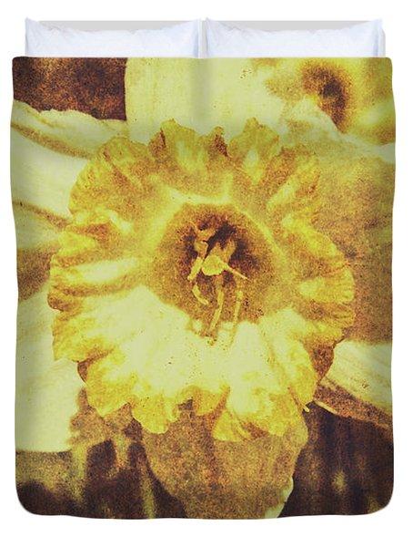 Rustic September Duvet Cover