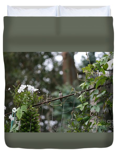 Duvet Cover featuring the photograph Rustic Serenity by Cynthia Marcopulos