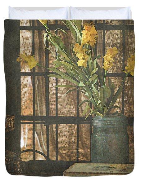 Rustic Still Life 1 Duvet Cover