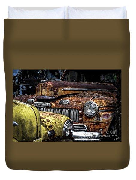 Rusting Away ... Duvet Cover