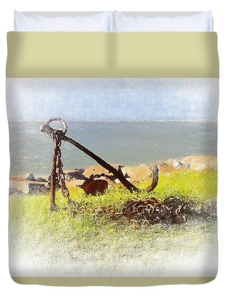 Rusty Anchor Duvet Cover