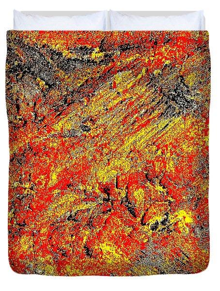 Rusty Euphoria Duvet Cover