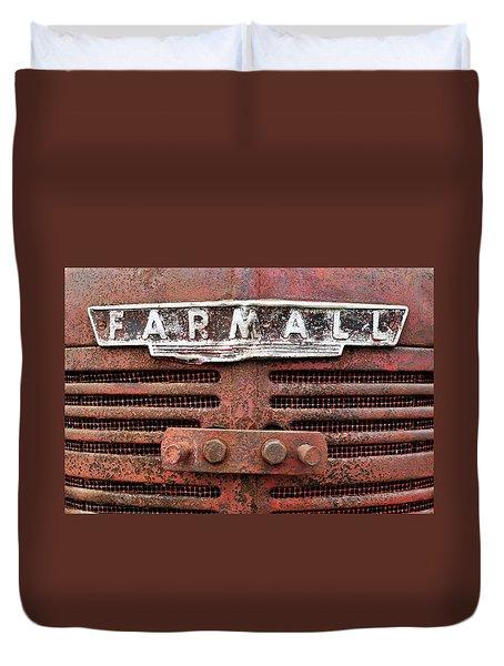 Rusty Farmall Duvet Cover