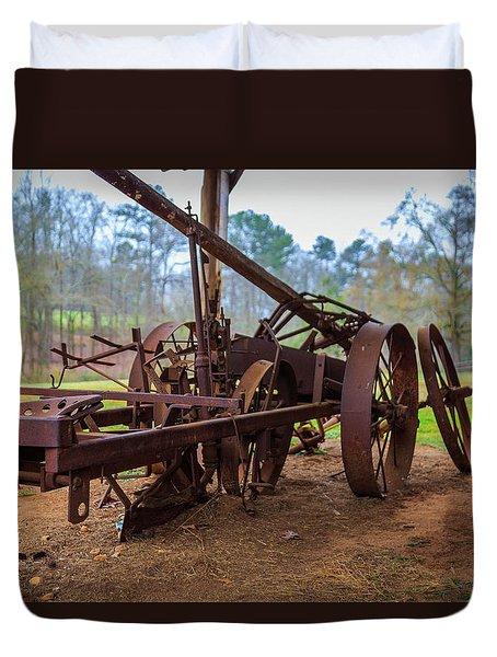 Rusty Farming Duvet Cover