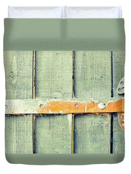 Rusty Hinge Duvet Cover