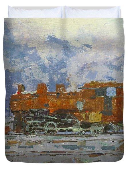 Rusty Loco Duvet Cover