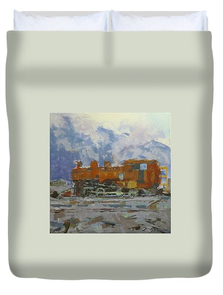 Rusty Loco Duvet Cover