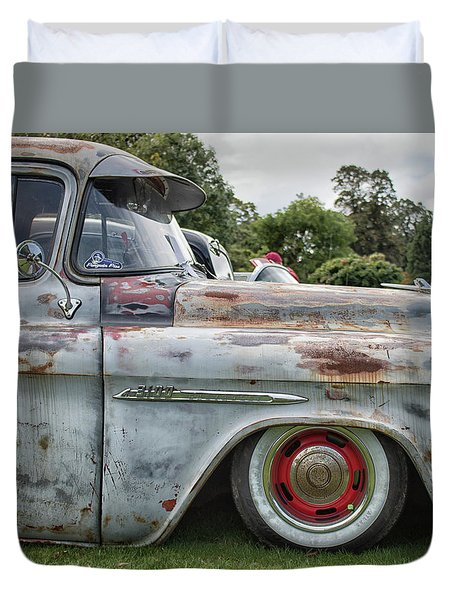 Rusty Pick Up Duvet Cover