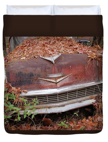 Rusty Ride Duvet Cover by Patrice Zinck