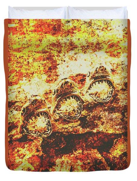 Shark Duvet Covers   Fine Art America