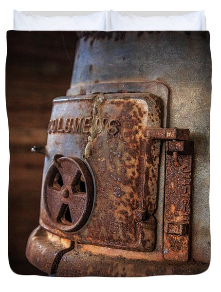 Rusty Stove Duvet Cover