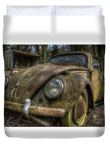 Rusty Vee Dub  Duvet Cover