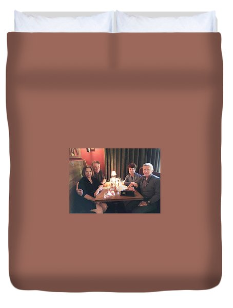 Ruth And Tom Duvet Cover
