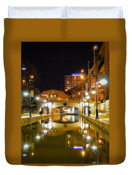 Rva Canal Walk Duvet Cover