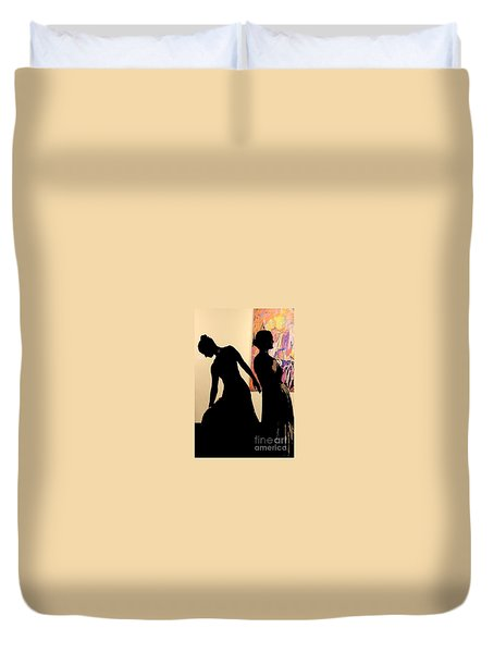 Rva Dancers Duvet Cover
