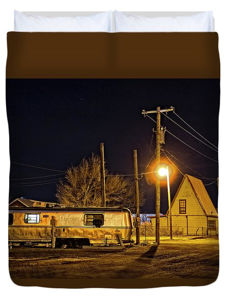 Rving Route 66 Duvet Cover