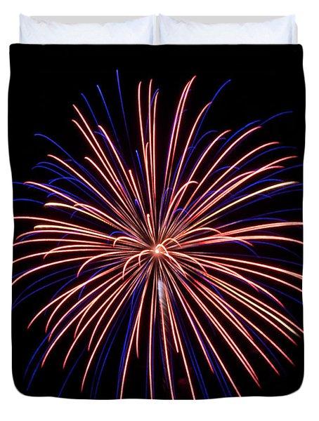 Rvr Fireworks 48 Duvet Cover