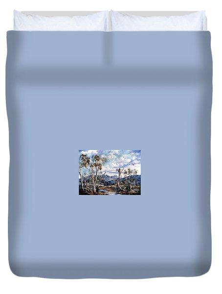 Rwetyepme, Mount Sonda Central Australia Duvet Cover