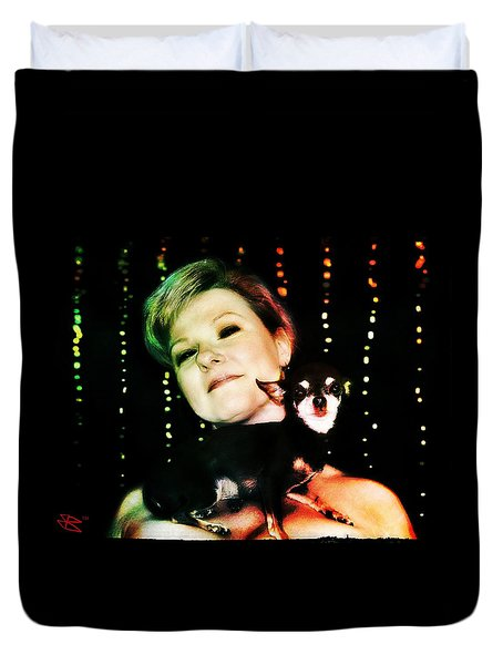 Ryli And Chi-chi 2 Duvet Cover