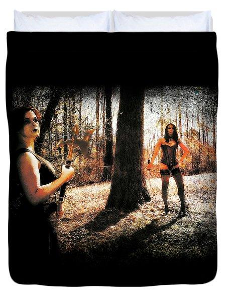 Ryli And Nancy 1 Duvet Cover