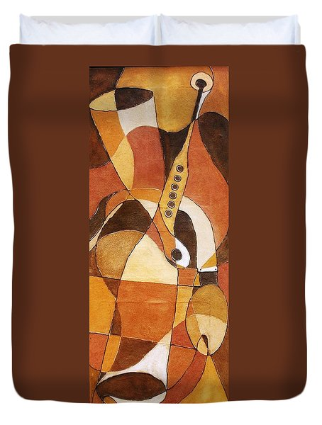 Rythm Of Unity Duvet Cover