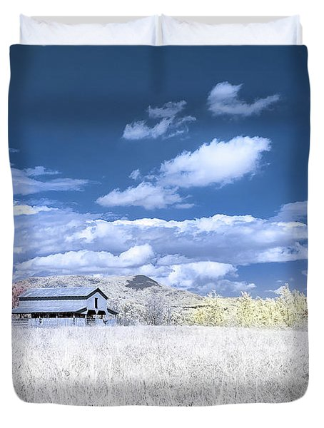 S C Upstate Barn Faux Color Duvet Cover