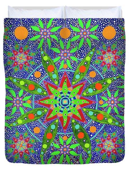 Sabiduria De Las Plantas Duvet Cover