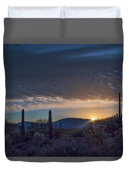 Sabino Sunrise Duvet Cover
