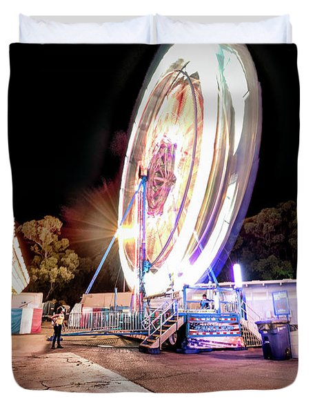 Sacramento State Fair- Duvet Cover