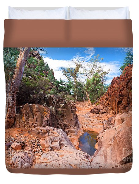 Sacred Canyon Duvet Cover