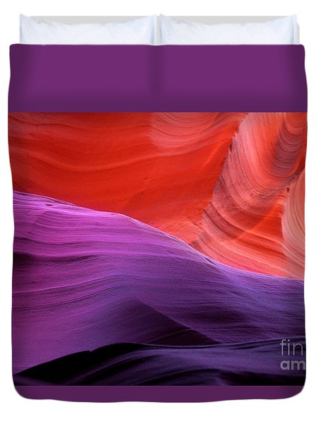 Sacred Colors Duvet Cover by Jason Abando