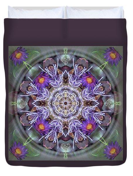 Sacred Emergence Duvet Cover