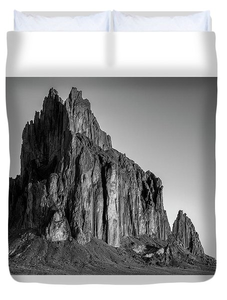 Duvet Cover featuring the photograph Sacred Glow II by Jon Glaser