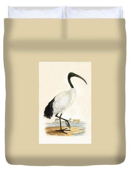 Sacred Ibis Duvet Cover