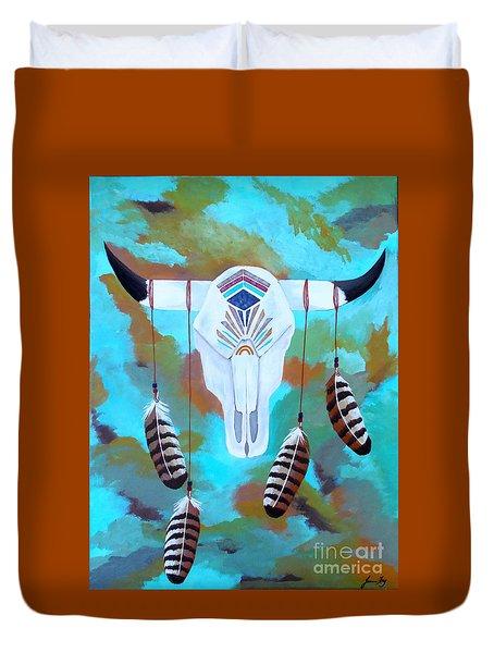 Sacred Duvet Cover