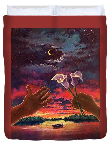 Sacred Love Duvet Cover